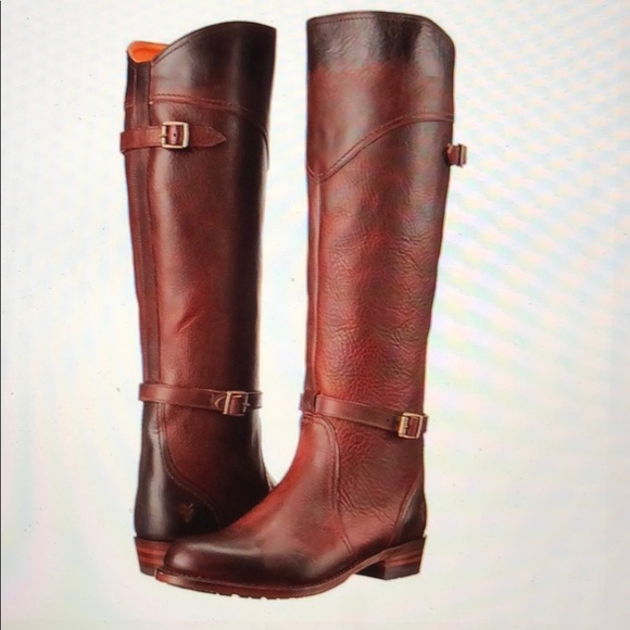 Redwood Frye Dorado Lug Riding Boots